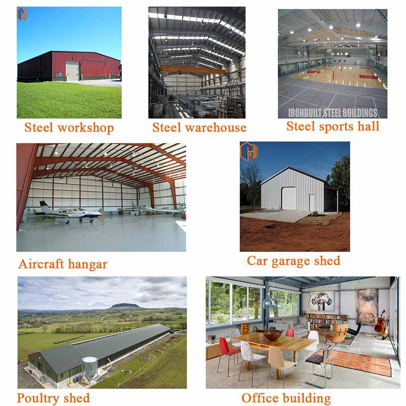 low cost steel chicken house constructionpoultryshedbuilding