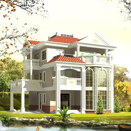 Three Floors Villa
