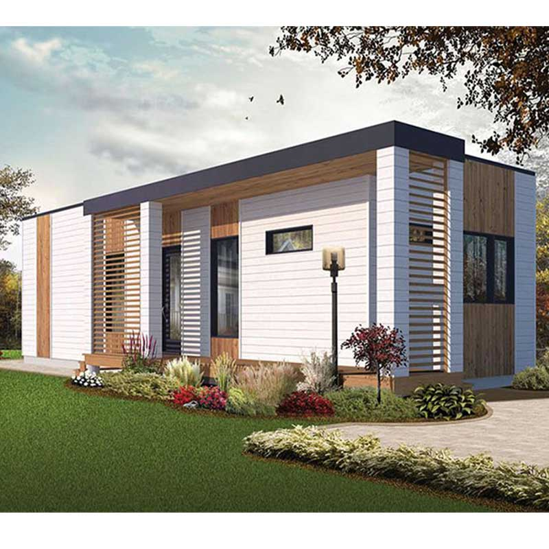 HJSD-1-2-3 Good design prefab house villa luxury duplex house design