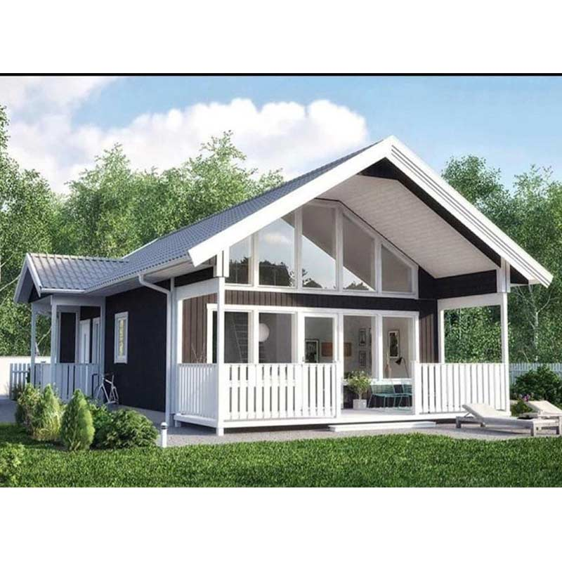 HJSD-1-2-5 Easy assembling prefabricated luxury villa modern cottage home