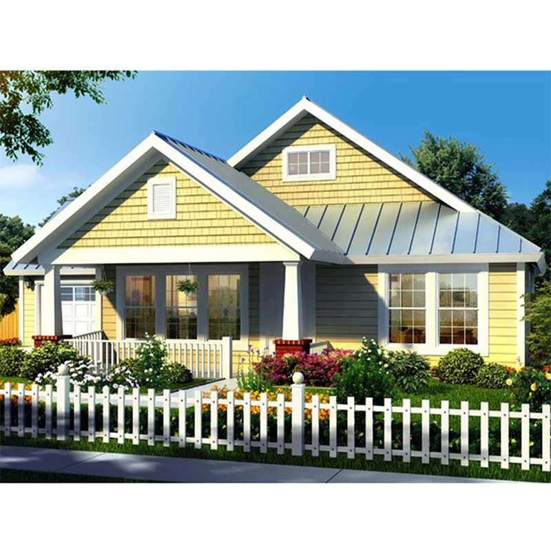 HJSD-1-3-3 High quality prefabricated villa house bungalow house