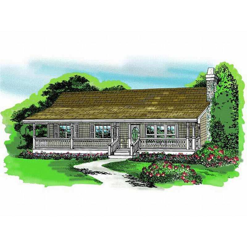 HJSD-1-3-4 Well designed villa house small home