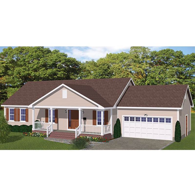 HJSD-1-3-5 Fast construction portable villa small country house
