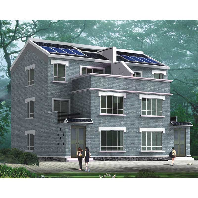 HJSD-3-3-2 wholesaler HJSD manufacture modern luxury three storeys villa for living