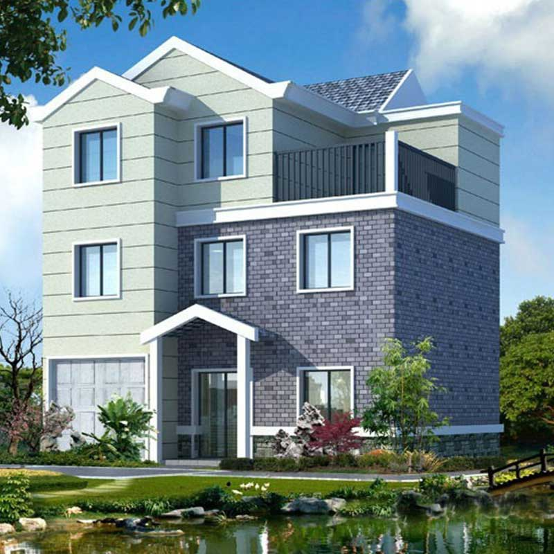HJSD-3-4-1 new product hot sale three floors steel villa for sale