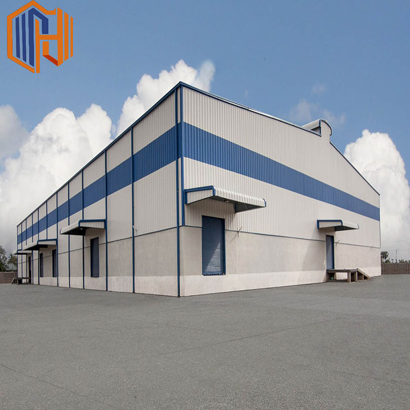 Durable and Low cost Prefab Steel Structure Warehouse for Sale