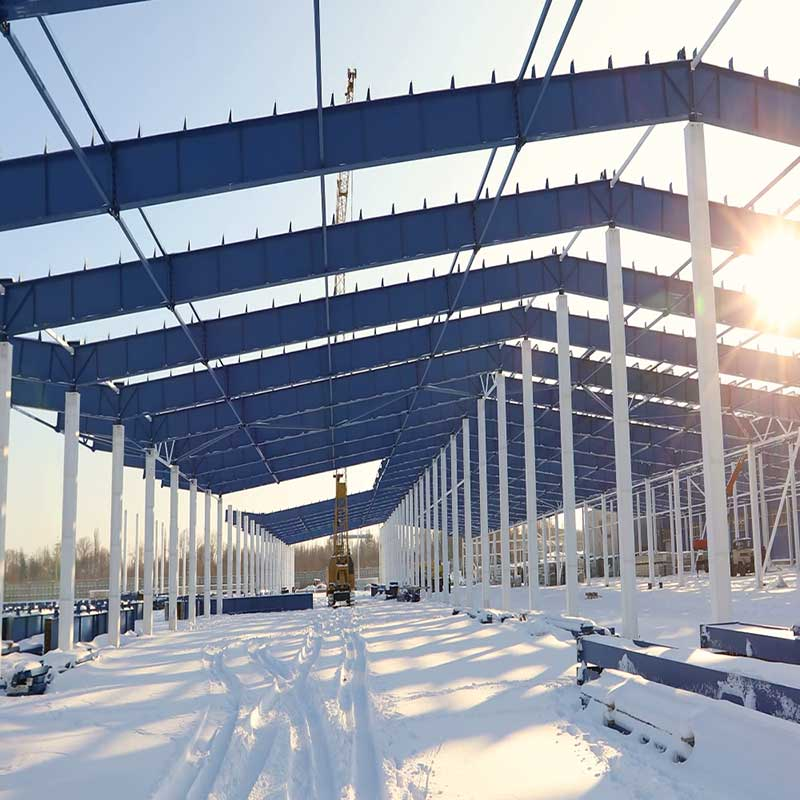Durable and Low cost Prefab Steel StructureWarehousefor Sale