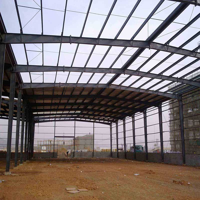 Heavy Weight Steel Structure Building Prefabricated Workshop